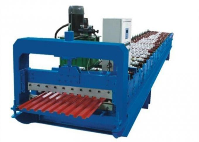 Automatic Rolling Shutter Strip Making Machine For Making Corrugated Sheet