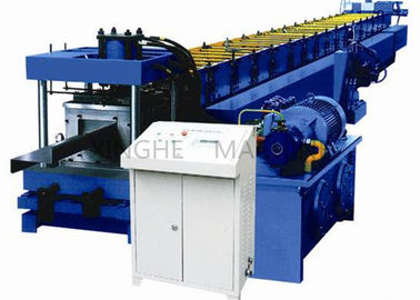 Trung Quốc Automatic Cold Roll Forming Machine For Stadiums Wall Surface Support Purlin nhà cung cấp