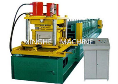 Trung Quốc 7.5 KW Galvanized Steel Purlin Roll Forming Machine With 6 Ton High Capacity nhà cung cấp