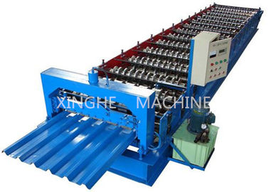 Trung Quốc Sheet Metal Glazed Tile Roll Forming Machine With 4 Tons High Capacity nhà cung cấp