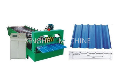 Trung Quốc 11 Rows Roller Automatic Roll Forming Machines With Carbon Steel 45 Raw Material nhà cung cấp