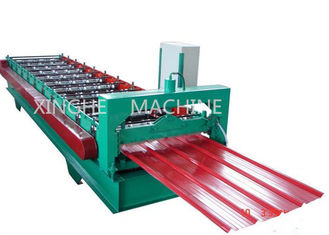 Trung Quốc High Capacity Cold Roll Forming Machines With Coiler Sheet Guiding Device nhà cung cấp