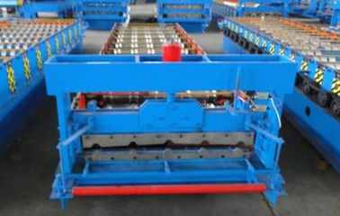 Trung Quốc 3kw High Speed Roof Panel Roll Forming Machine Using Galvanized Steel Coil nhà cung cấp