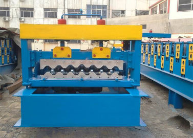 Trung Quốc 4kw Corrugated Sheet Roll Forming Machine For Making 750mm Width Wall Panel nhà cung cấp