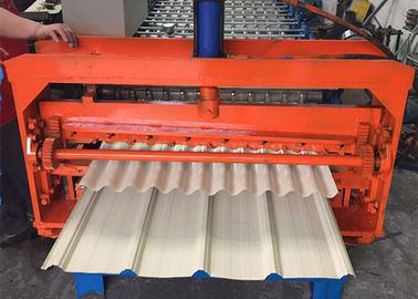 Trung Quốc Color Coated Metal Sheet Rolling Machine , Smart Metal Roofing Roll Former  nhà cung cấp