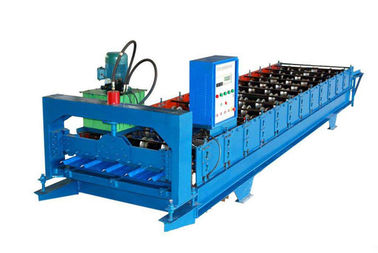 Trung Quốc Color Coated Wall Panel Roll Forming Machine , Roofing Sheet Making Machine nhà cung cấp