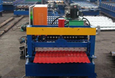 Trung Quốc 380V Electrical Corrugated Roll Forming Machine For 850mm Width Roofing Sheet nhà cung cấp