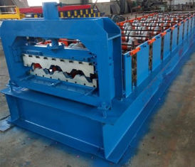 Trung Quốc 15KW Floor Deck Roll Forming Machine For Metal Structural Building Construction nhà cung cấp