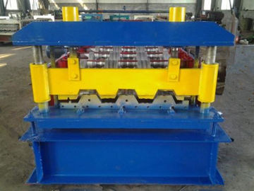 Trung Quốc Automatic High Speed Sheet Metal Roll Forming Machine For Making Floor Decks nhà cung cấp