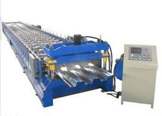 Trung Quốc Galvanized Sheet Floor Deck Roll Forming Machine 0.8 - 1.2mm Thickness Plate nhà cung cấp