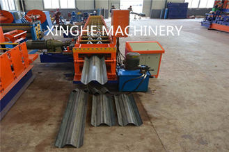 Trung Quốc Smart Highway Guardrail Roll Forming Machine For 2 Wave Galvanized Guardrail nhà cung cấp