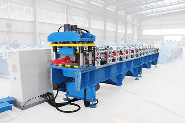 Trung Quốc Glazed Tile Ridge Cap Roll Forming Machine With 8 - 12m / Min Forming Speed nhà cung cấp