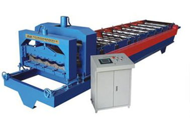 Trung Quốc Glazed Tile Roof Panel Cold Roll Forming Machines / Roofing Sheet Roll Forming Machine nhà cung cấp