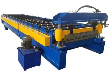 Trung Quốc Corrugated Steel Sheet Cold Roll Forming Machines Colored Steel Wall Roof Panel Machine nhà cung cấp