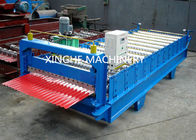 Trung Quốc Industrial Glazed Tile Roll Forming Machine With Hydraulic Decoiler Machine  nhà máy sản xuất