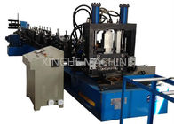 80-300mm CZ Purlin Roll Forming Machine For 1.5-4mm Thickness Purlin