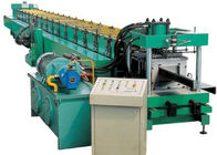 Industrial Metal C Purlin Roll Forming Machine , Steel Roll Forming Machine
