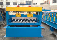 Trung Quốc 4kw Corrugated Sheet Roll Forming Machine For Making 750mm Width Wall Panel nhà máy sản xuất