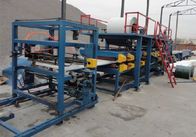 Corrugated Aluminum Steel Stud Roll Forming Machine With 17 - 44 Rows Rollers