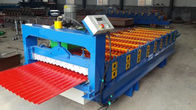 Trung Quốc 3kw Aluminium Wall Panel Roll Forming Machine with Hydraulic moulding cutter nhà máy sản xuất