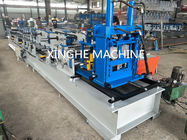 Automatic Metal Channel Steel Beam C Z Purlin Roll Forming Machine Quick Interchangeable