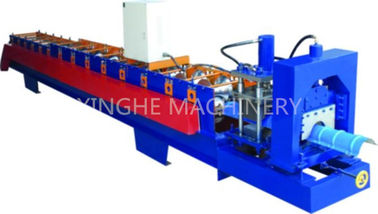 Trung Quốc GI Colored Steel Cold Roll Forming Machine With Electric Tile Cutting Machine nhà máy sản xuất