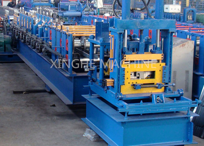 Automatic Cold Roll Forming Machine For Stadiums Wall Surface Support Purlin