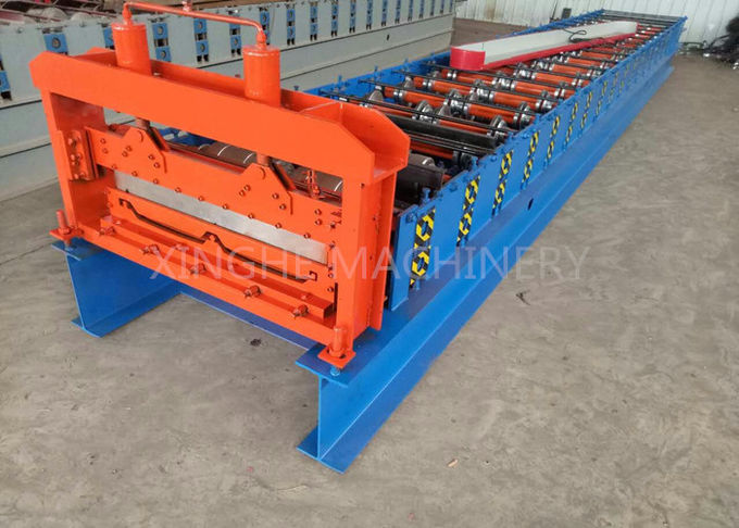 380V 60HZ Automatic Roll Forming Machines With 15 - 20m / Min Forming Speed