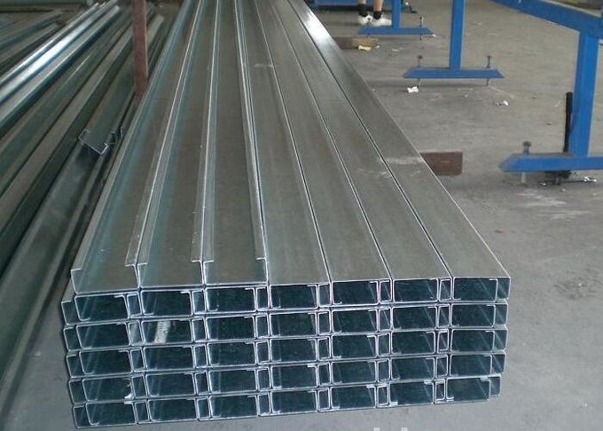 High Speed Security Metal Roofing Roll Former With Hydraulic Pump Station