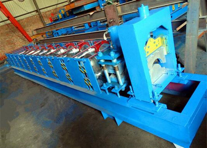 GI Colored Steel Cold Roll Forming Machine With Electric Tile Cutting Machine