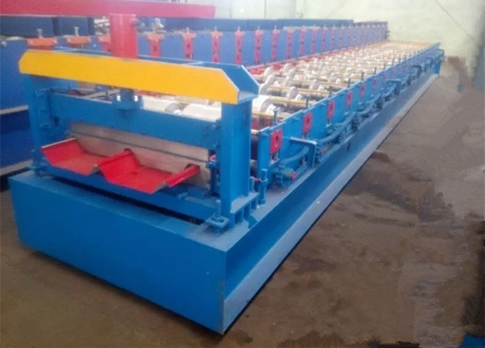 4kw Steel Automatic Roll Forming Machines , Glazed Tile Roll Forming Machine
