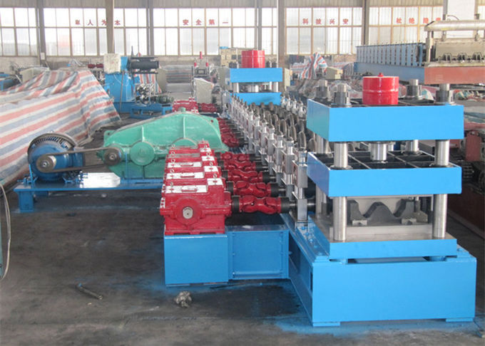 15KW Gutter Roll Forming Machine With Painting Treatment Welding Structure