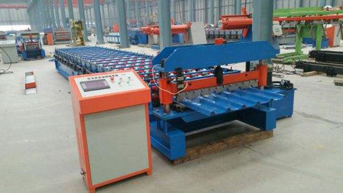 380V Metal Roof Forming Machine Build - In Energy Saving Frequency Converter