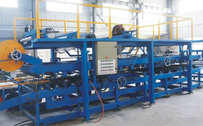 380V Sandwich Panel Roll Forming Machine , Sheet Metal Roll Forming Machine