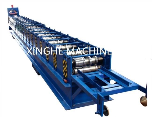 Gutter Cold Roll Forming Machines / Square Type Downpipe Former Equipment