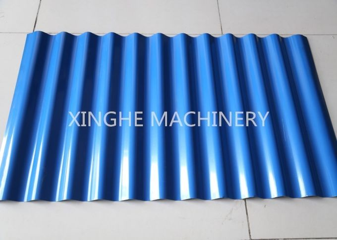 Automatic Galvanized Steel Roof Panels Cold Roll Forming Machine